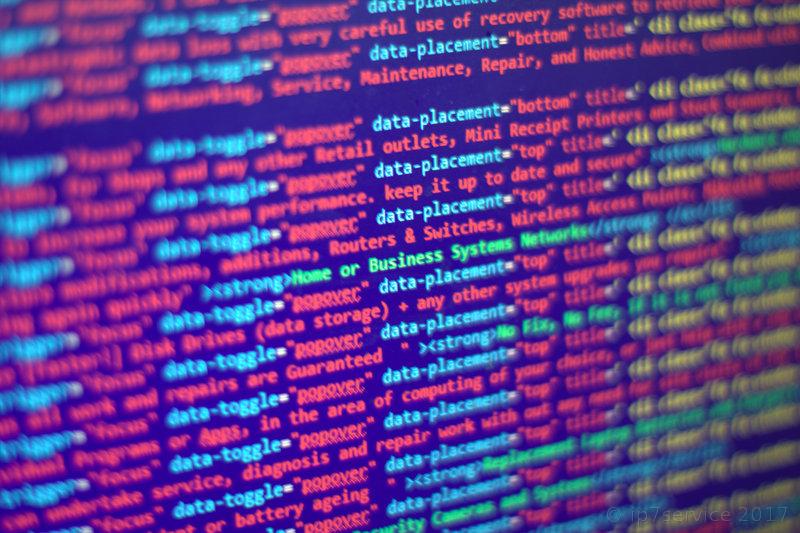 HTML (web page) Code