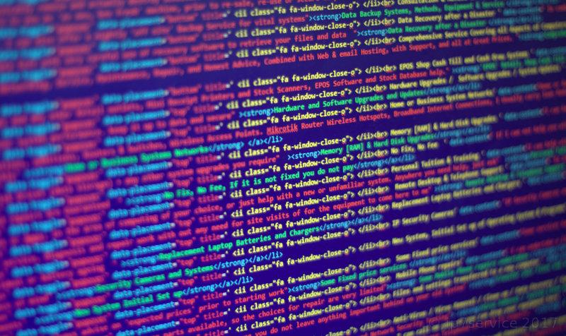 HTML 'web page' code image